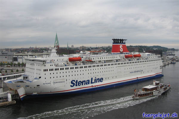 Freya og Stena Germanica
