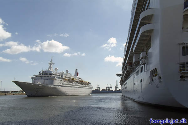 Boudicca og Emerald Princess