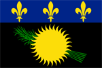 Guadeloupe's flag